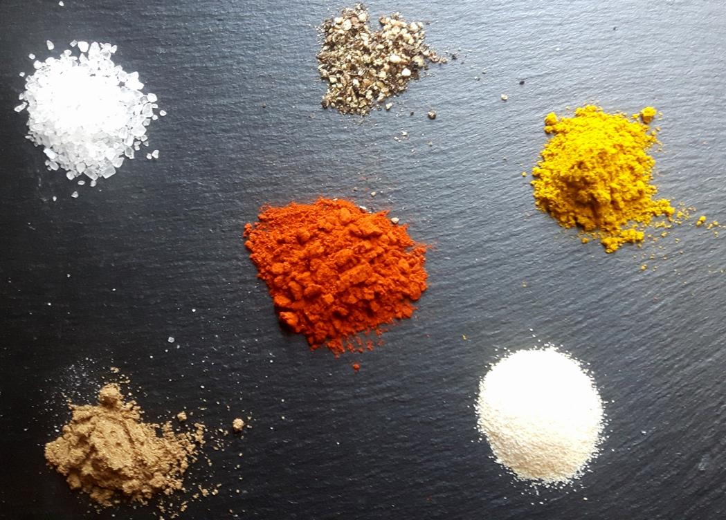 Gewürze für Rubs, Dips und Saucen