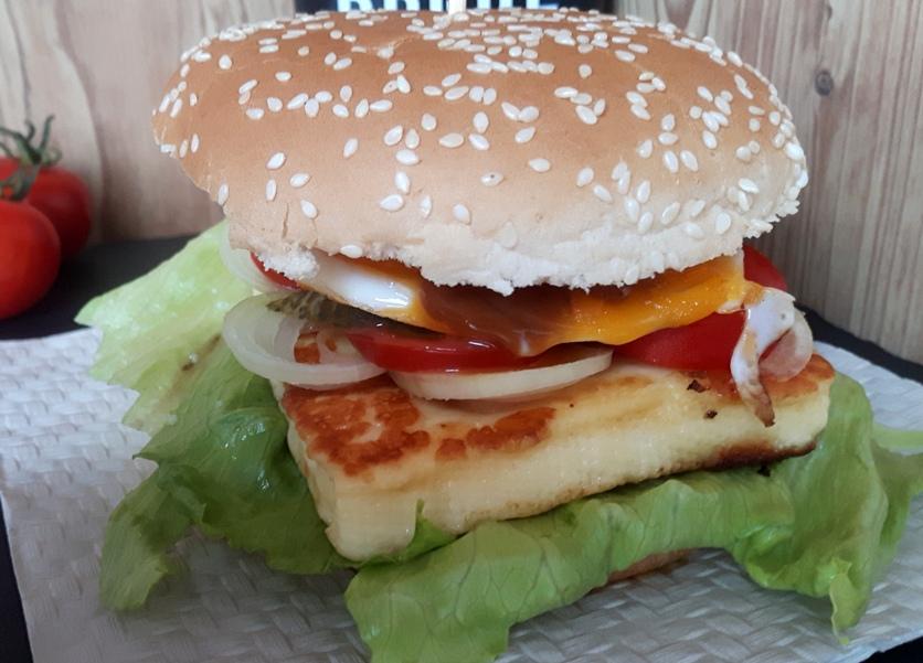 Grillkäse Burger