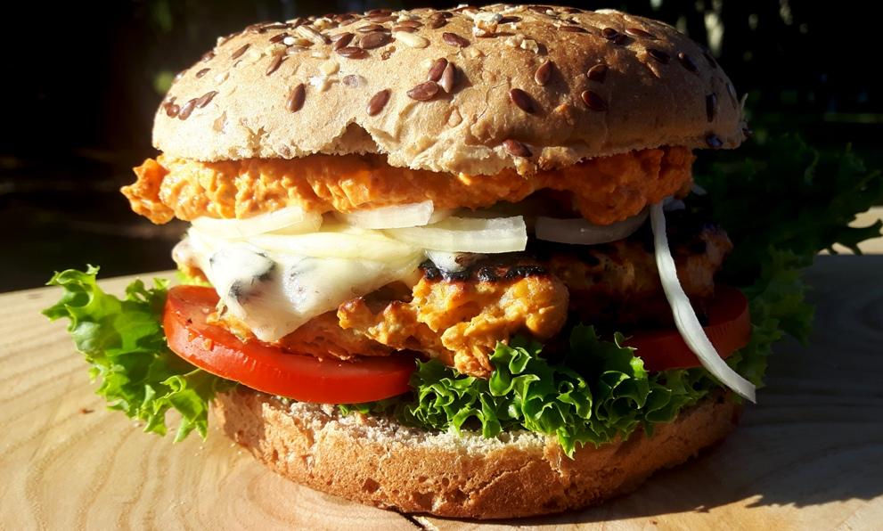 türkischer Veggie Burger