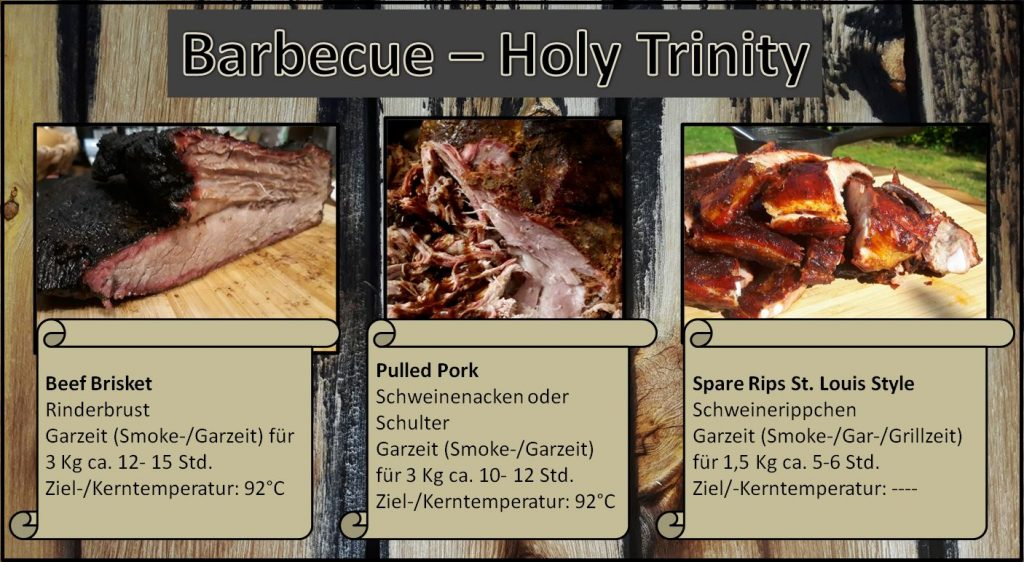 Holy Trinity des Barbecue