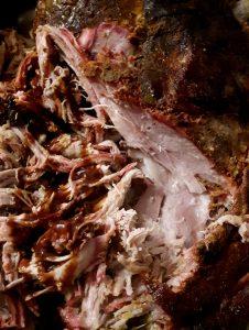 Pulled Pork-mit Barbecuesauce