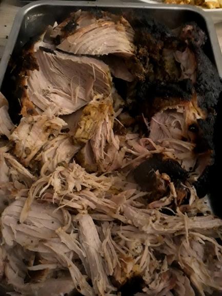 Sweat Pulled Pork zerrupft