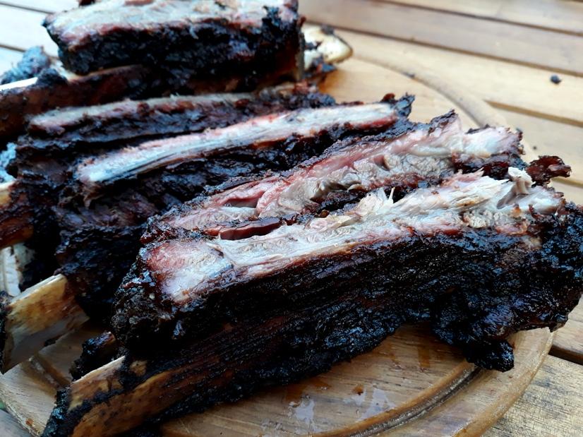 Beef Rips gesmoked