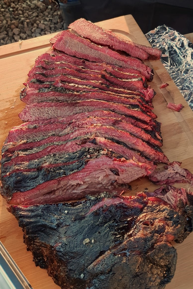 Beef Brisket vom Reverseflow Smoker