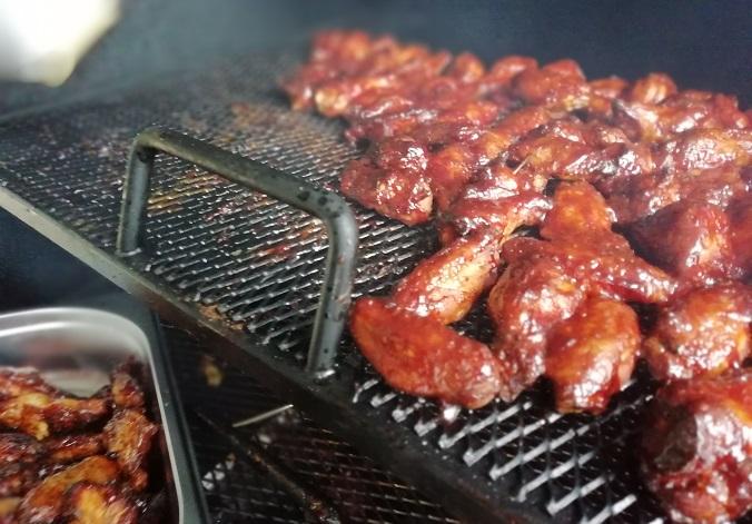 Chicken Wings gesmoked